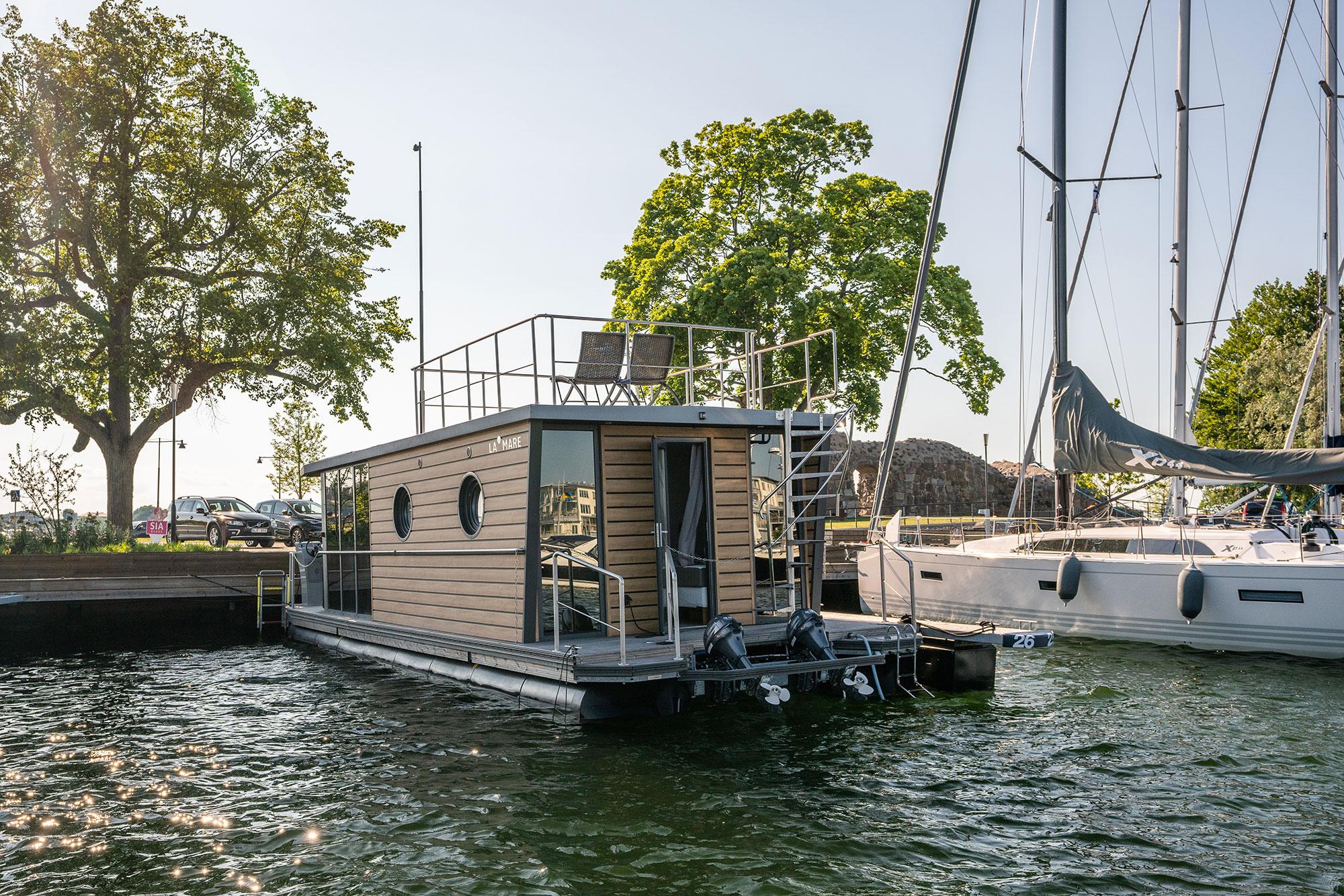 La Mare – Försäljning av husbåtar