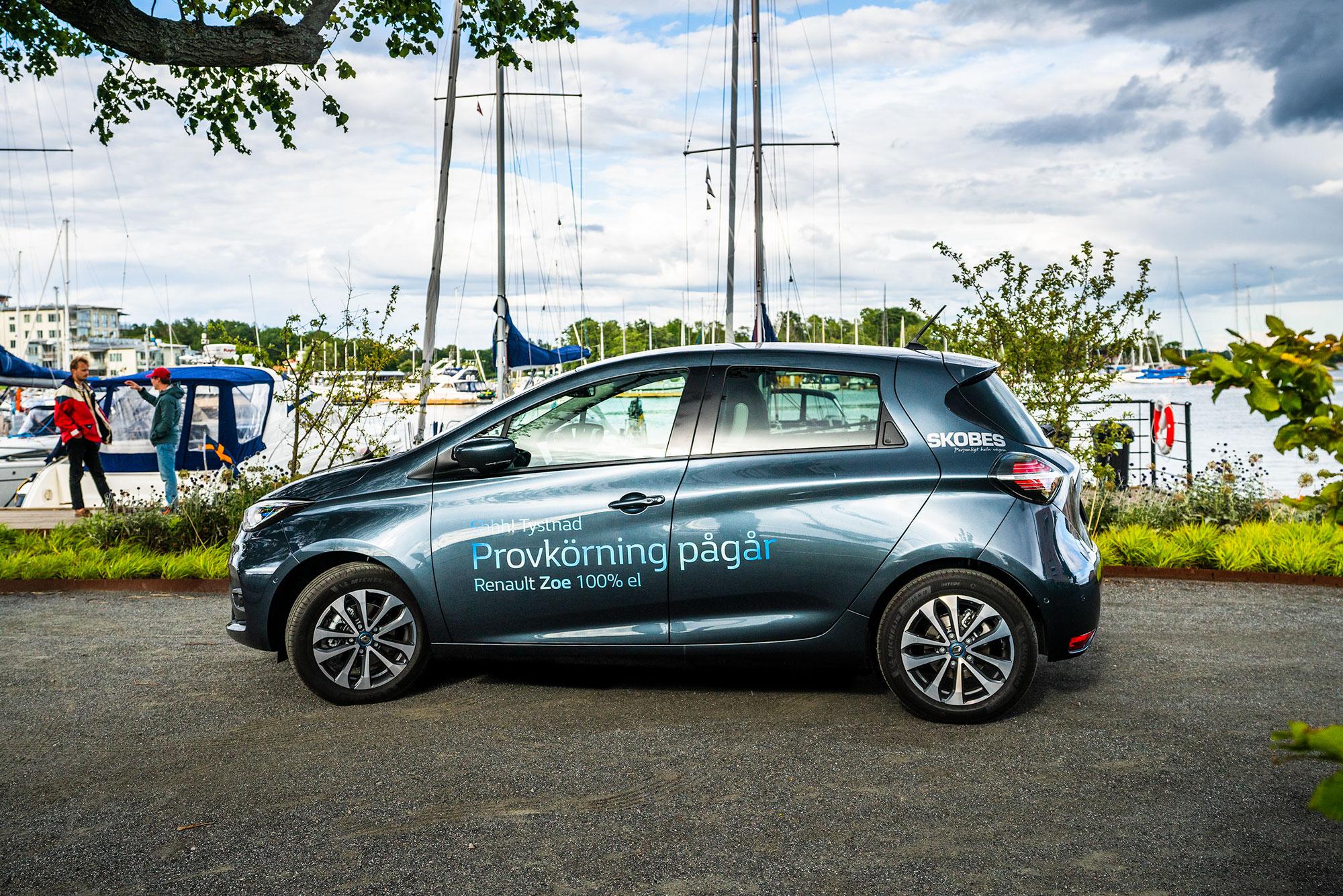 Provkör nya Renault Zoe